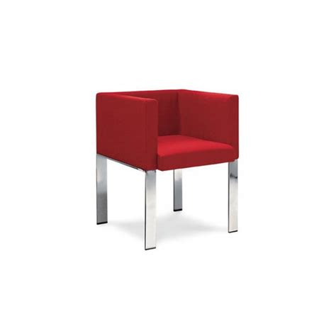 cube armchair crimson cube armchair from ultimate contract uk