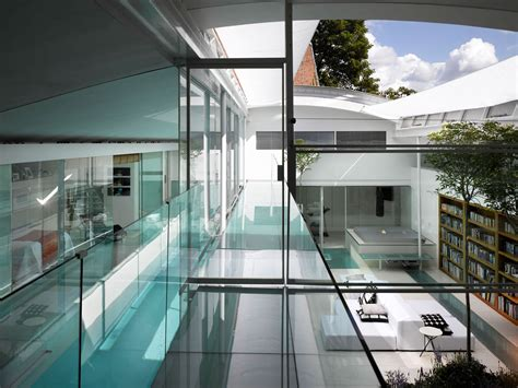 luxury house modern interior glass interior