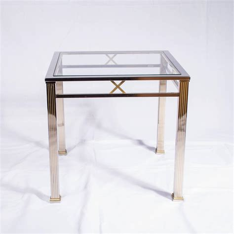 glass and chrome coffee table chrome and glass coffee table joevin ortjens galerie