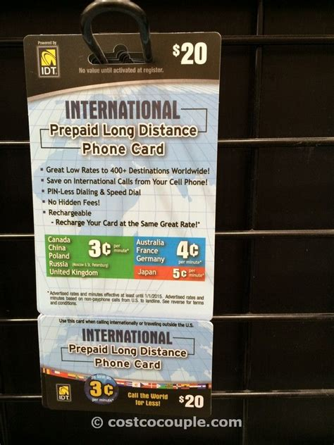 Prepaid Gift Cards For International Use - idt international prepaid phone card