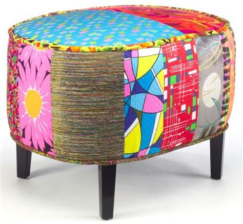 colorful ottomans 273 best images about foot stools poufs ottomans on