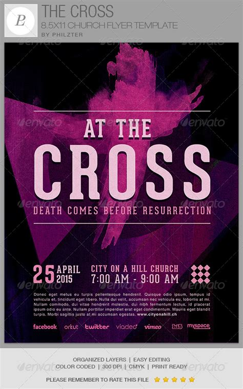 Software For Church Records And Flyers 187 Tinkytyler Org Stock Photos Graphics Template For Church Flyer