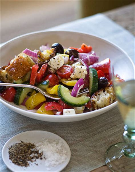 Greek Salad Ina Garten | women chefs social tuna