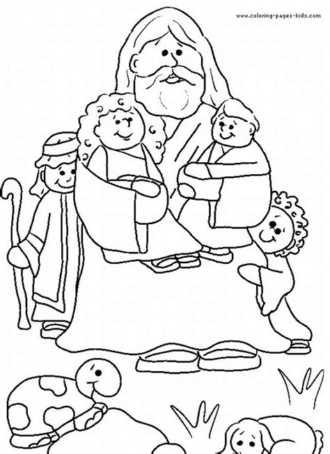 children s coloring pages of jesus on the cross god and