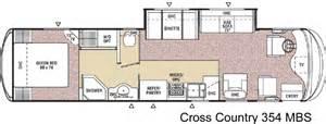 cross floor plan 2005 coachmen cross country class a rvweb