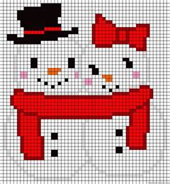 Christmas Table Decorations Ideas 40 Cool Perler Bead Patterns Hative
