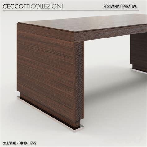 scrivania 3d 3d модели столы стол ceccotti scrivania operativia