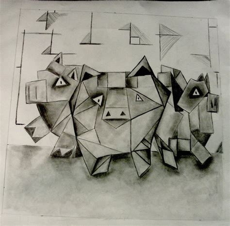 how to draw cubism cubist drawing for monolith by bigafromcompton on deviantart