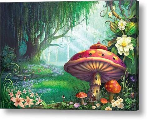 enchanted forest acrylic print  philip straub girls
