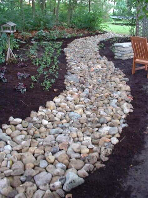 Landscape Rock Drainage River Rock Drainage Question Lawnsite