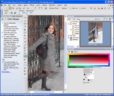 обзор графического редактора corel paint shop pro photo x1