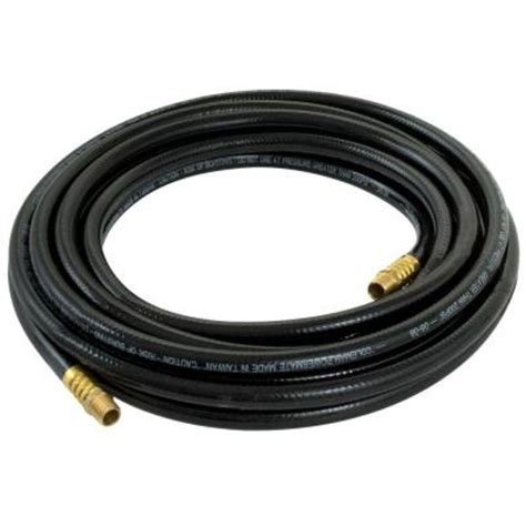 powermate 25 ft x 3 8 in pvc air hose 012 0059ct the