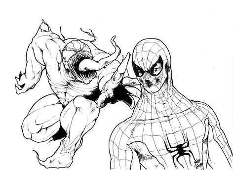 spiderman coloring pages to print free