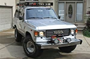 toyota land cruiser roof rack for sale 1985 toyota land cruiser fj60 v8 power 350 chevy