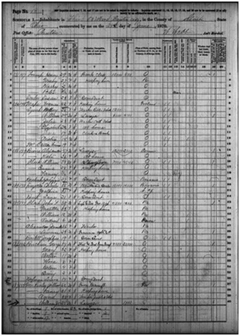 william mckinley in the u.s. census records