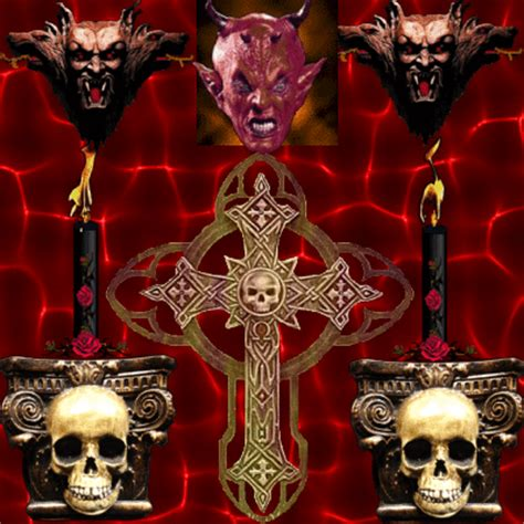 satan s evil cross picture 100584319 blingee com