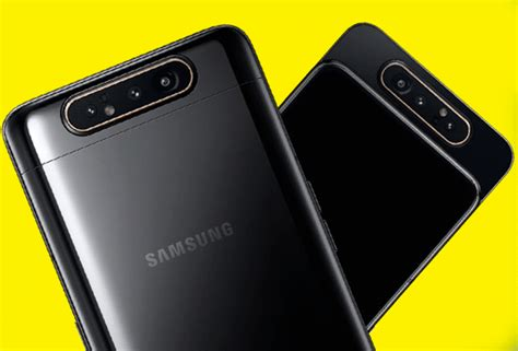 Samsung Galaxy A80 New Price by Samsung Galaxy A80 Price Specs Update New Smartphone Wows With Its Rotating Cameras The