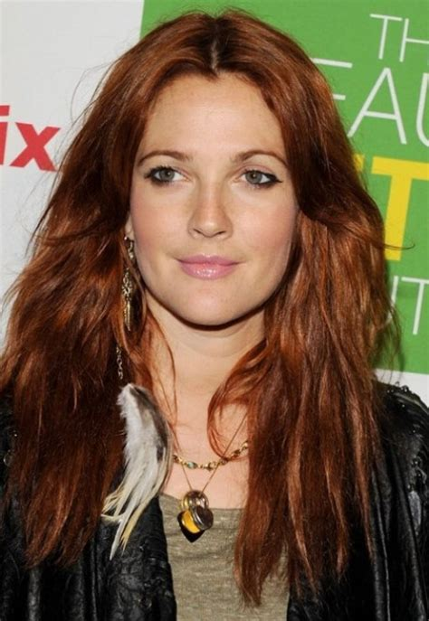 drew barrymore hair color fashn trendz drew barrymore hair look
