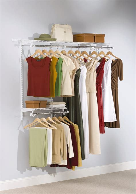Closet Configurations by Rubbermaid Starter Configurations Closet Organizer 3 6
