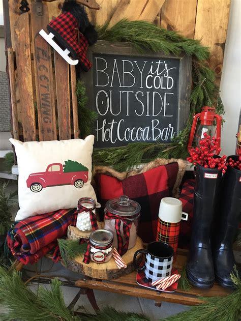 10 affordable buffalo plaid christmas decor on a budget kara s party ideas vintage rustic plaid christmas party