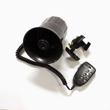 Klakson Kelakson Toa Motor Polisi Mic 6 Suara daftar harga klakson motor terbaru dan terlengkap in bagus