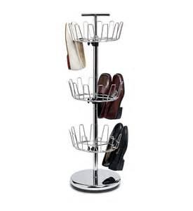 shoe carousel shoe carousel chrome in shoe racks