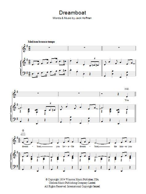 dream boat phrase alma cogan dreamboat sheet music at stanton s sheet music