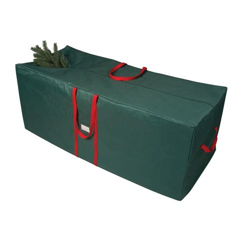 richards green and red 58 in artificial tree storage bag