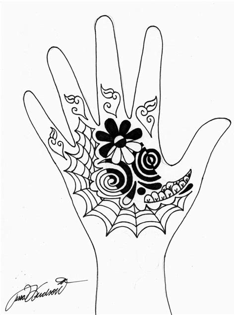 henna tattoo hand stencils henna images designs