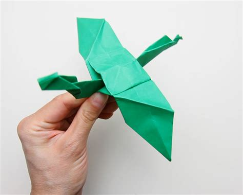 Origami Make - how to make origami dragons 9 steps with pictures wikihow