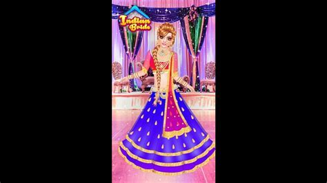Indian doll   bridal collection Dress up a bride  girls