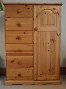 pine tallboy wardrobe ebay boy room