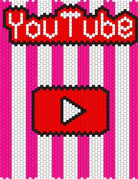 pattern music youtube youtube backpack bead pattern peyote bead patterns