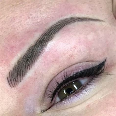 how to make a permanent tattoo best 25 semi permanent eyebrows ideas on semi