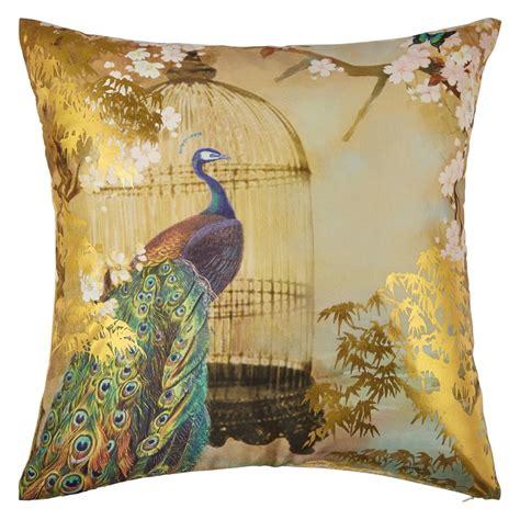 suki gold foil cushion  arthouse gold wallpaper direct