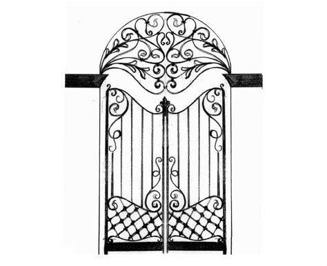 porta ferro battuto porte in ferro battuto cancelli in ferro battuto letti