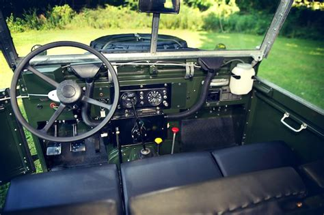 land rover series 3 interior 1969 land rover series iia quot air portable quot