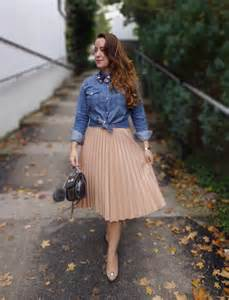 The folded fabric makes the original skirt more stylish the pleated