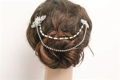 7 Must Hair Accessories For by Bridal Hair Chain Wedding Hair Clip Bridal Hair Comb