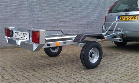 lichte boottrailer trelgo motortransporter kopen in albergen op aanhangwagens