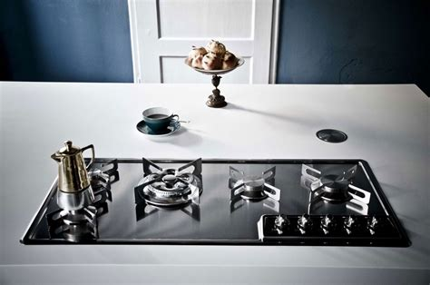 cucine piani cottura piano cottura incasso inox f499 4gtc alpes inox
