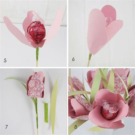how to make floral arrangements step by step how to make a bouquet of chocolate flowers shabby art