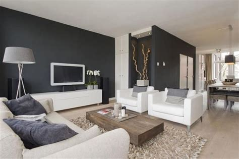 furniture and grey walls on