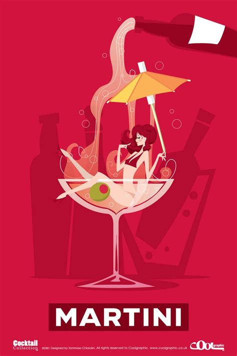 vintage cocktail posters retro graphics from the cocktails collection