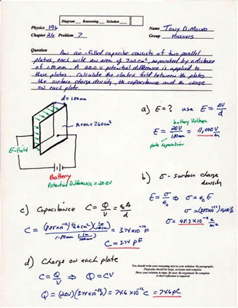 capacitors physics problems capacitance