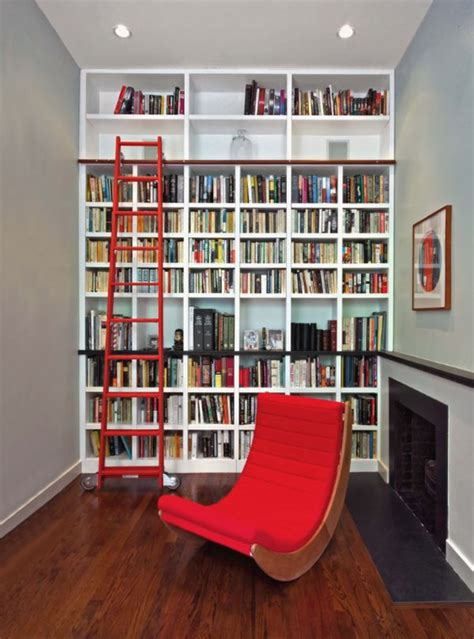 37 home library design ideas with a dropping visual