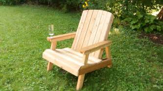 wanna build an adirondack chair for your patio this