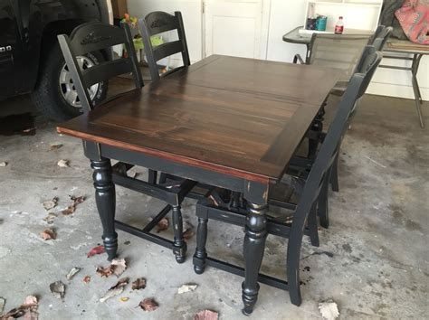 black painted dining table best 25 dining table redo ideas on diy table