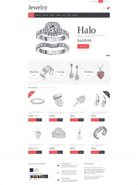 bootstrap templates for jewellery 18 jewelry bootstrap themes templates free premium