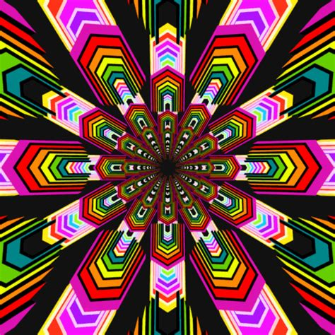 moving pattern gif rainbow cube gif find share on giphy